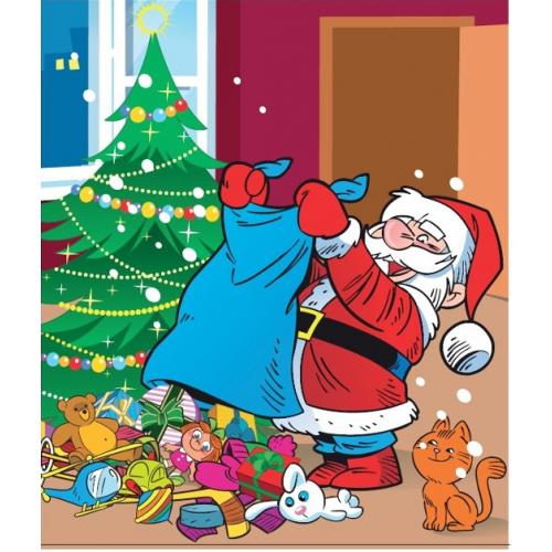 Wszystkie nowe Reklamówki świąteczne Mikołaj Renifer LDPE 39x45cm 10szt FP43